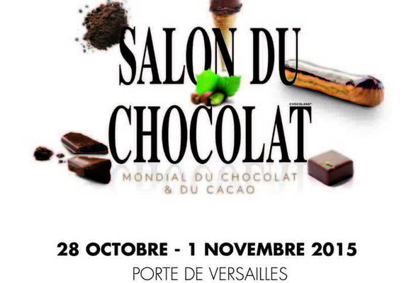 Salon du chocolat delphine paris for Porte de versailles salon du running